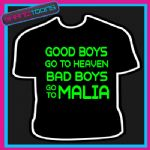 MALIA LADS HOLIDAY STAG DO PARTY PRINTED TSHIRT